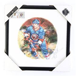 Canada Post Hockey Canvas 'Dennis Potvin' Signed 1
