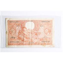 Belgium 1944 100 Francs CAT- 113 (VG) (CE)