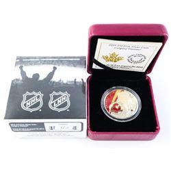 2015 $10.00 Fine Silver Coin 'Calgary Flames'