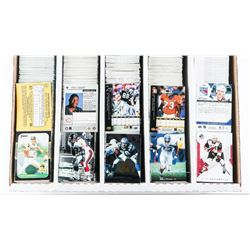 Lot - 5000 Count Box of Mixed Sports Cards Include