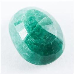Loose Gemstone (6.71ct) Oval Cut Emerald. TRRV: $2