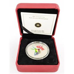 2007 25 Cent Coin 'Ruby Throated Hummingbird' (SER