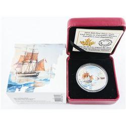 2012 9.9 Fine Silver $10.00 Coin 'HMS Shannon'