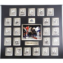 The NHL ALUMNI COLLECTION CARD COLLAGE