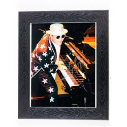 Estate 8x10 Photo ELTON JOHN Signed