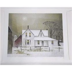 Tyron Mint A.J. Casson (1898-1992) Litho 'Winter S
