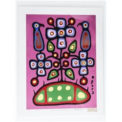 Christian Morrisseau (1969-) Serigraphic - 'All of