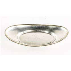 ESTATE 'GORHAM' Oval Sterling Silver Tray 227 gram
