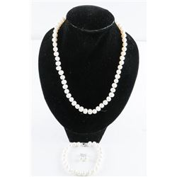 MYOTO - Pearl Necklace, Bracelet and Earrings