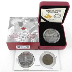 Royal Visit - 1939 Silver Dollar and Medal Plus .9