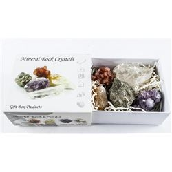 Group of (5) Mineral Rock crystals (RP300)