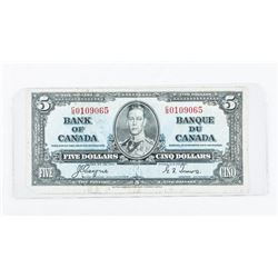 Bank of Canada 1937 5.00 C/T
