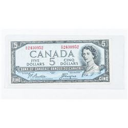 Bank of Canada 1954 Devil's Face 5.00 Note