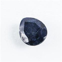 Loose Gemstone (8.98ct) Pear Cut Blue Sapphire TRRV: $2700.00