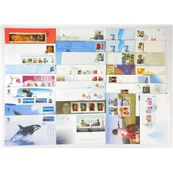 Canada Post Official First Day Cover Collection 2010 - over 50.00 Postage. Canada Post 89.95