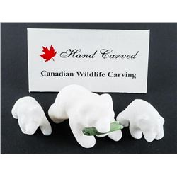 3pc star Marble Stone Carving