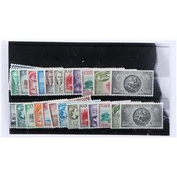 Barbados 25pc Stamp Collection