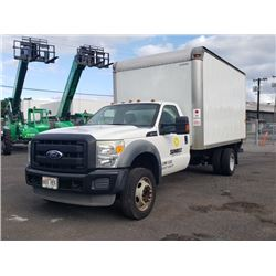 2011 Ford F-450 Box Truck 14 ft Box -LOCATED IN HILO BIG ISLAND (Runs Transmission Slips)