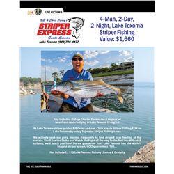 Striper Fishing w/ Striper Express at Lake Texoma