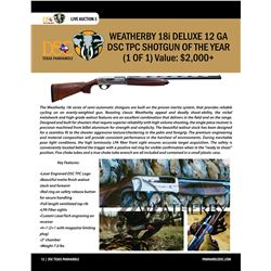 DSC TPC Shotgun of the Year - Weatherby 18i Deluxe 12 Ga (1 of 1)