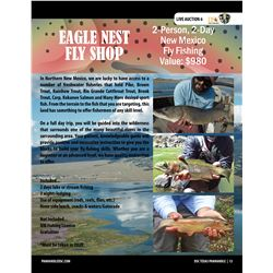 Fly Fishing near Eagle Nest New Mexico with Eagle Nest Fly Shop