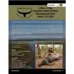 Australian Water Buffalo Hunt w/ Australian Big Game Safaris