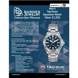Tag Heuer AQUARACER Watch from Barnes Jewelry