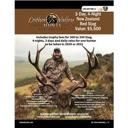 Red Stag Hunt in New Zealand w/ Leithen Valley Hunts