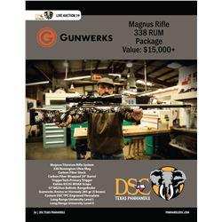 Gunwerks Magnus 338 Remington Ultra Mag Package