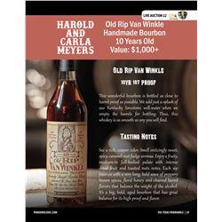 Rip 10 - Old Rip Van Winkle Handmade Bourbon - 10 Years Old