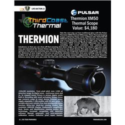 Pulsar Thermion XM50 Thermal Rifle Scope from Third Coast Thermal