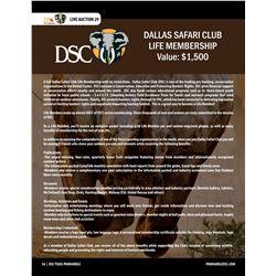 Life Membership in Dallas Safari Club