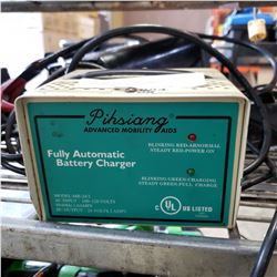 PIHSIANF FULLY AUTOMATIC BATTERY CHARGER