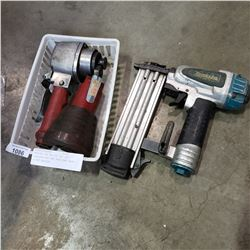 MAKITA PIN NAILER AND MAC UTILITY CUT OFF TOOL AND BLUE POINT AT400A