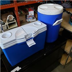 DRINK COOLER AND PORTABLE COOLER