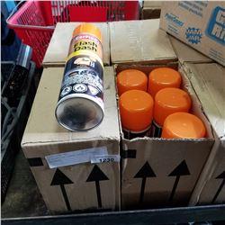 4 BOXES OF FLASH DASH CITRUS CLEANER