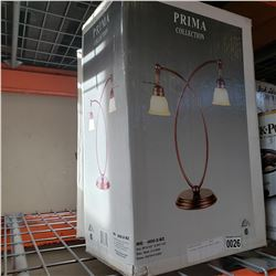 2 NEW PRIMA COLLECTION TABLE LAMPS