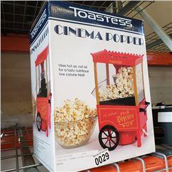TOASTESS CINEMA POPPER POPCORN MAKER