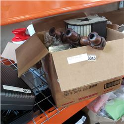 2 BOXES OF COUNTRY DECOR