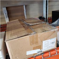 BOX OF NEW PLASTIC BAGS