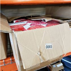 BOX OF DISPOSABLE E VAPES