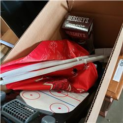 BOX LOT OF VANCOUVER HOCKEY MEMORBILLA