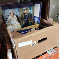 LARGE BOX OF COLLECTOR DOLLS