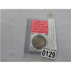 1888 MORGAN SILVER DOLLAR .900 SILVER - PHILADELPHIA MINT