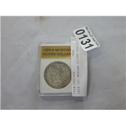 1889 -O- MORGAN SILVER DOLLAR