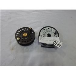 HARDY DISCOUNT 140 FLY REEL AND OTHER HARDY SPARE SPOOL