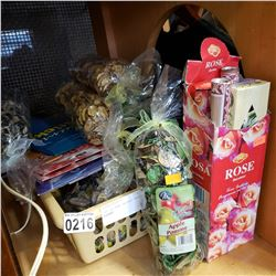 LOT OF NEW INCENSE AND POT POURRI