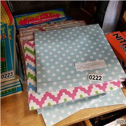APPROX 50 PACKAGES OF QUALITY GIFT WRAP AND 20 PACKAGES OF BASKET WRAPPING