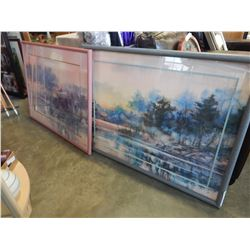 2 WATER COLOUR PICTURE SIGNED BY BRENT HIGHTON IN FRAME