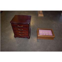 2 JEWELLERY BOXES